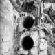 Бурение кирпича под трубы алмазмастер