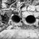 Бурение отверстий для монтажа труб