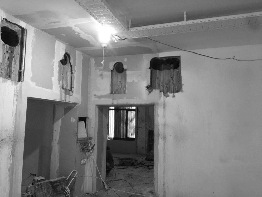Бурение отверстий в стенах
