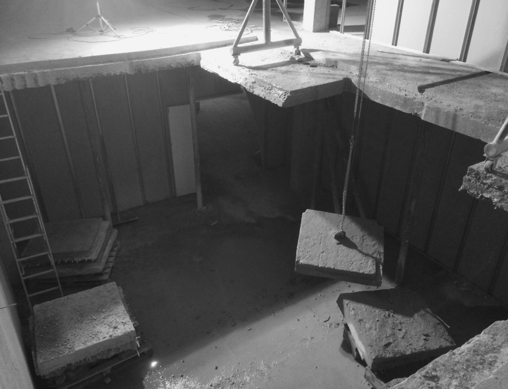 Резка проёма в бетоне алмазмастер