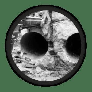алмазное бурение кирпича под трубы алмазмастер